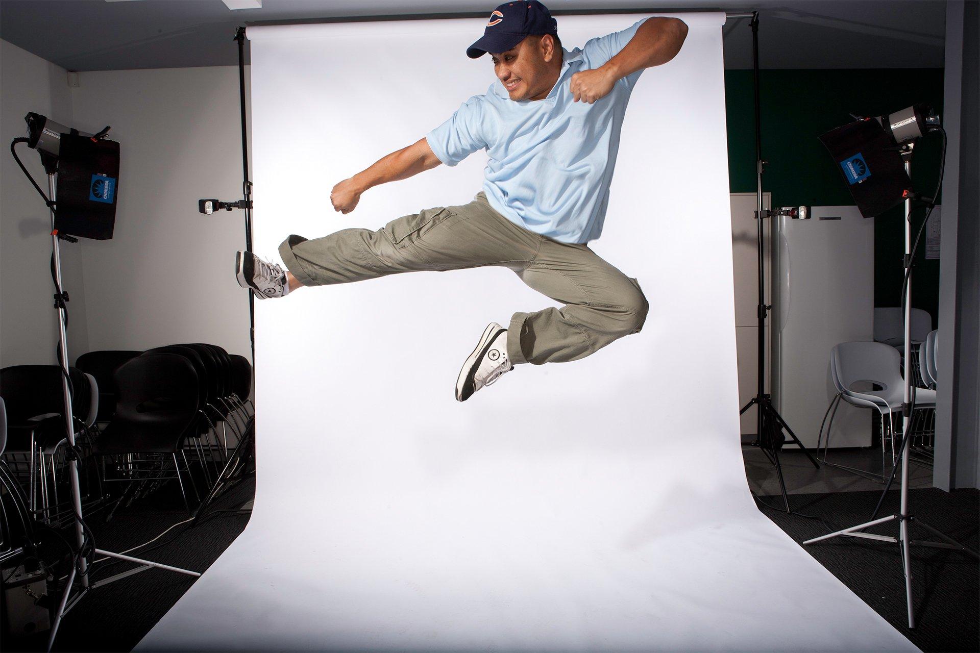 THQ Studio Oz Creative Corporate Portrait photography High Flier
